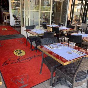 Restaurant Le Lamartine Mâcon, terrasse, repas, déjeuner, extérieur