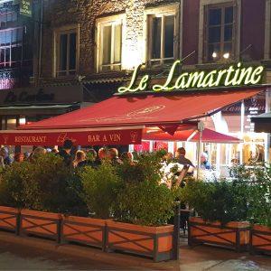 Restaurant Le Lamartine, Mâcon, Bar à Vin, Terrasse