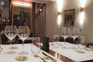 Restaurant Le Lamartine Mâcon, table, repas