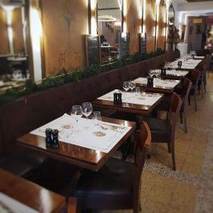 Restaurant Le Lamartine Mâcon, table, diner, déjeuner
