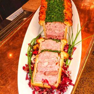 Restaurant Le Lamartine Mâcon, pâté en croûte