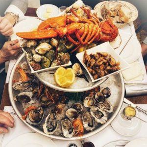 Restaurant Le Lamartine Mâcon, Fruits de mer, huître, repas